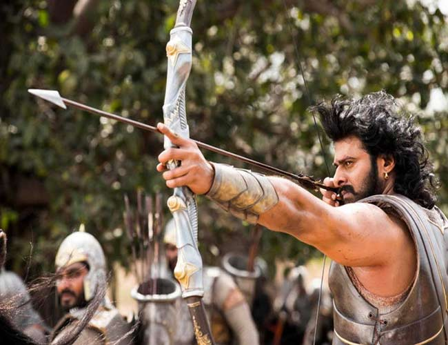 Shooting for Baahubali literally left a mark on Prabhas