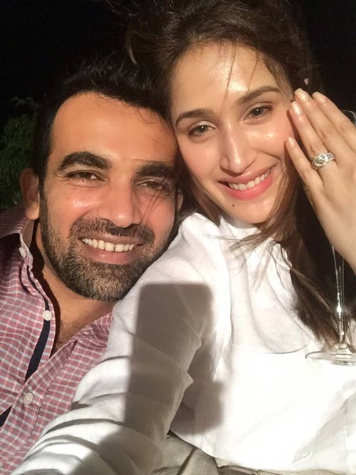 Zaheer Khan-Sagarika Ghatge are now `Partners for life,` announced their engagement