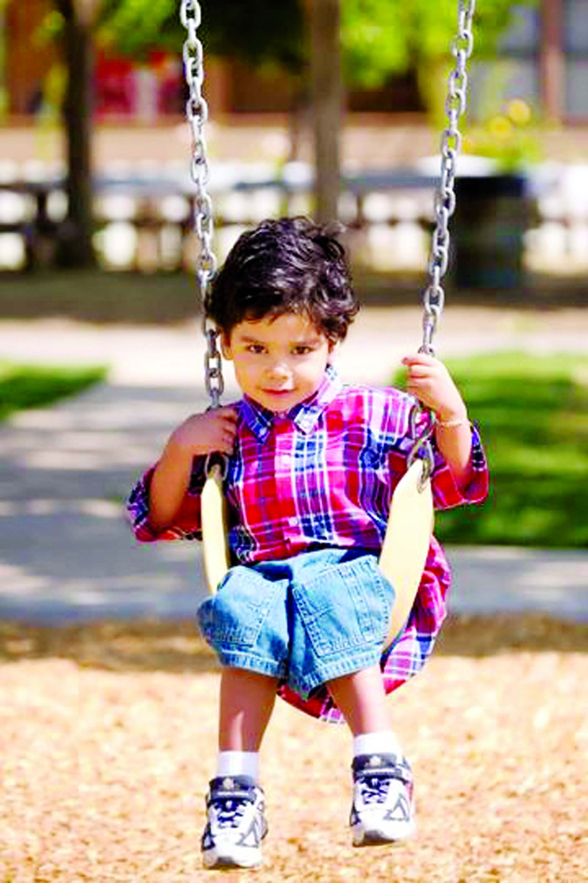 Hitting the play ground swings often can help children cooperate