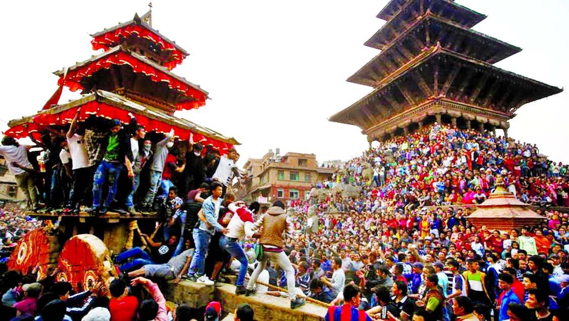 Nepal marks Bisket Jatra festival