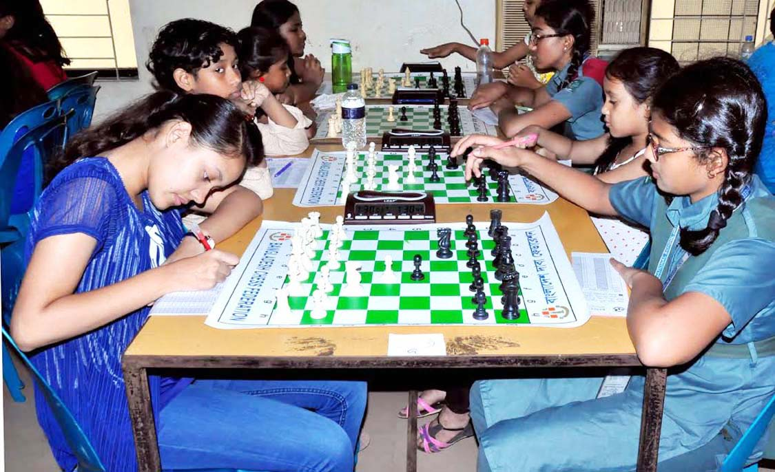 Five players share top spot in Sub-Junior Chess