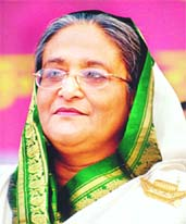 Hasina visits Sunamganj haor areas today
