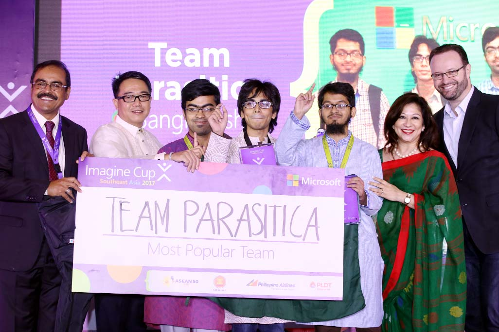 Bangladesh team competes Microsoft Imagine Cup Finals in USA