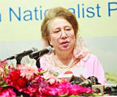 Khaleda vows to curb PM`s executive powers