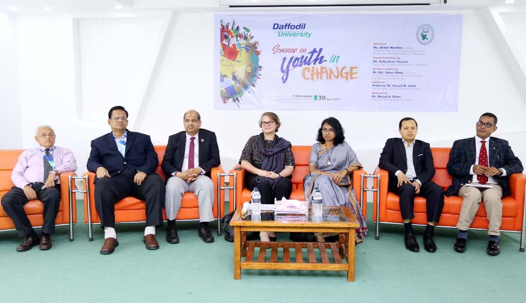 Seminar on 'Youth in Change' at DIU