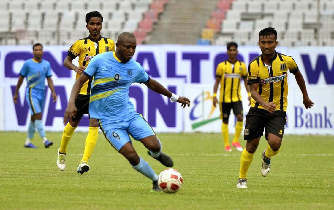 Holders Dhaka Abahani Ltd drop points with Saif SC in opener