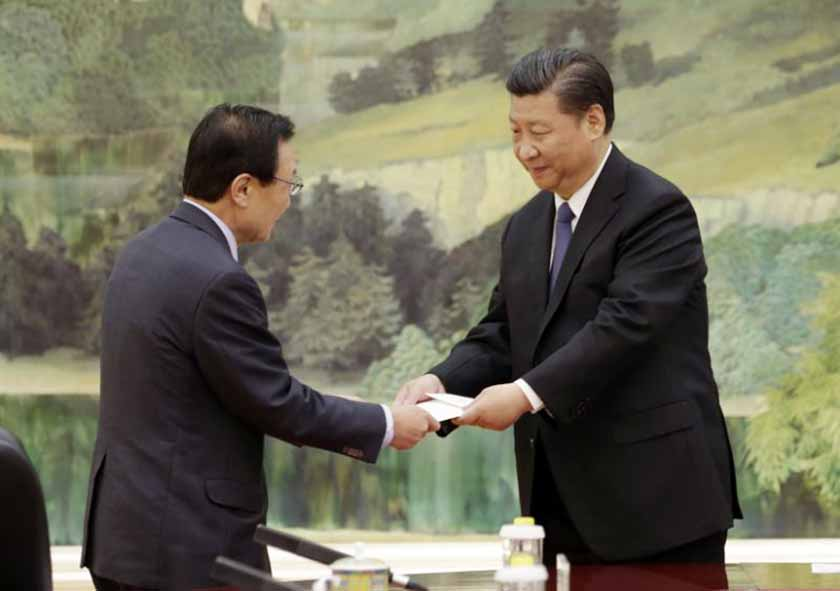 China willing to help end rift with South Korea: Xi