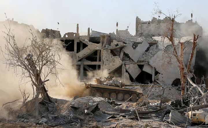 Russia says latest US air strike in Syria hits civilians