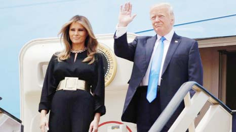 Trump aims to mend Muslim ties on first foreign trip