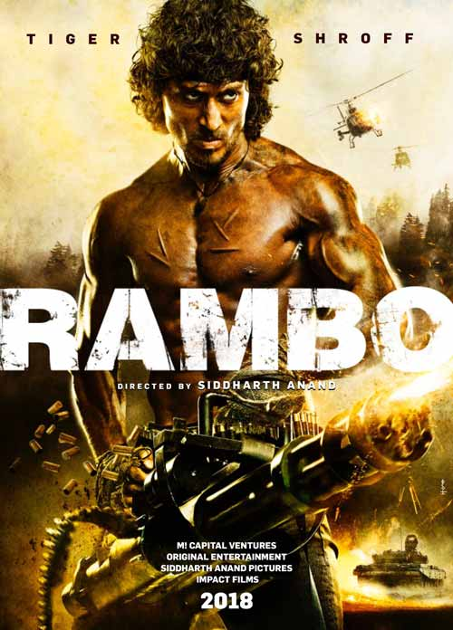 Tiger Shroff is all set to be 'Rambo'
