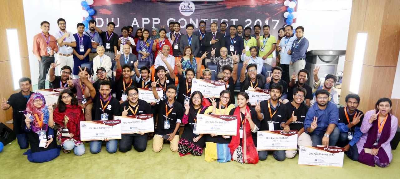 DIU APP Contest-2017 held