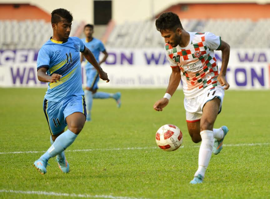 Dhaka Abahani emerge group champions beating Muktijoddha SKC 1-0