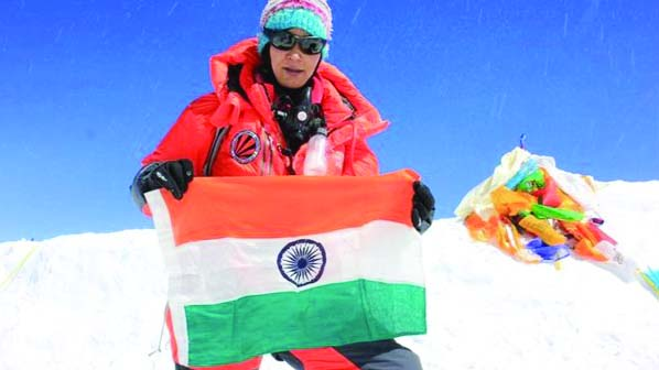 Indian woman sets new Everest dual ascent record