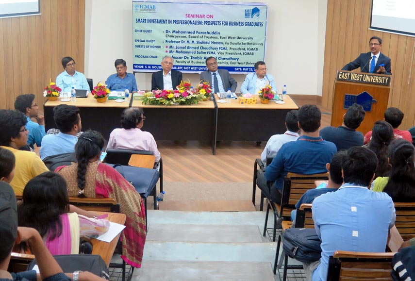 Seminar on 'Investment in Professionalism' at EWU