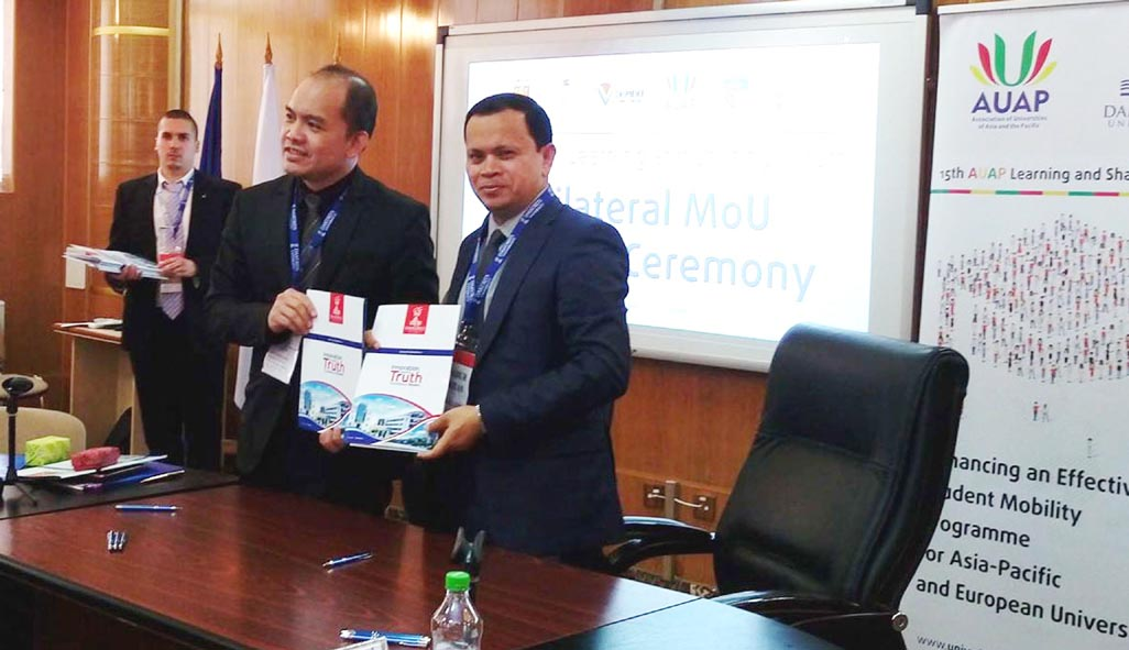 DIU signs MoUs with Euro varsities in AUAP