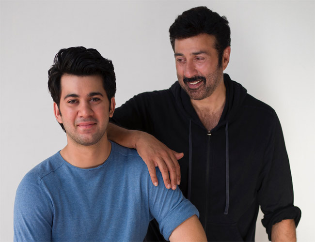Sunny Deol starts shooting of Pal Pal Dil Ke Paas with son Karan
