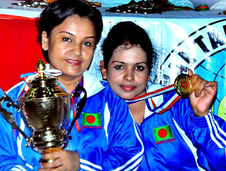 Walton Taekwondo team emerges champions in ITF taekwondo