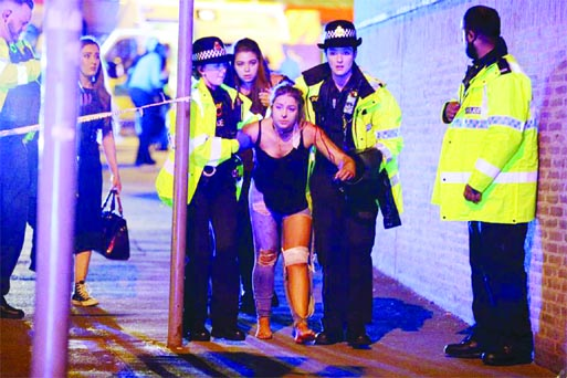 Suicide bomber kills 22, hurts 59 in Manchester concert