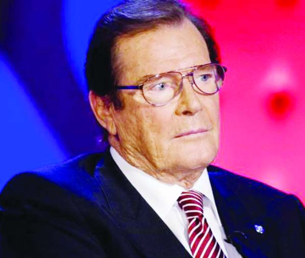 Sir Roger Moore no more