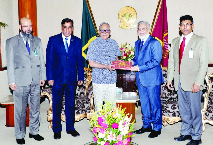 Law Commission submits annual report to President