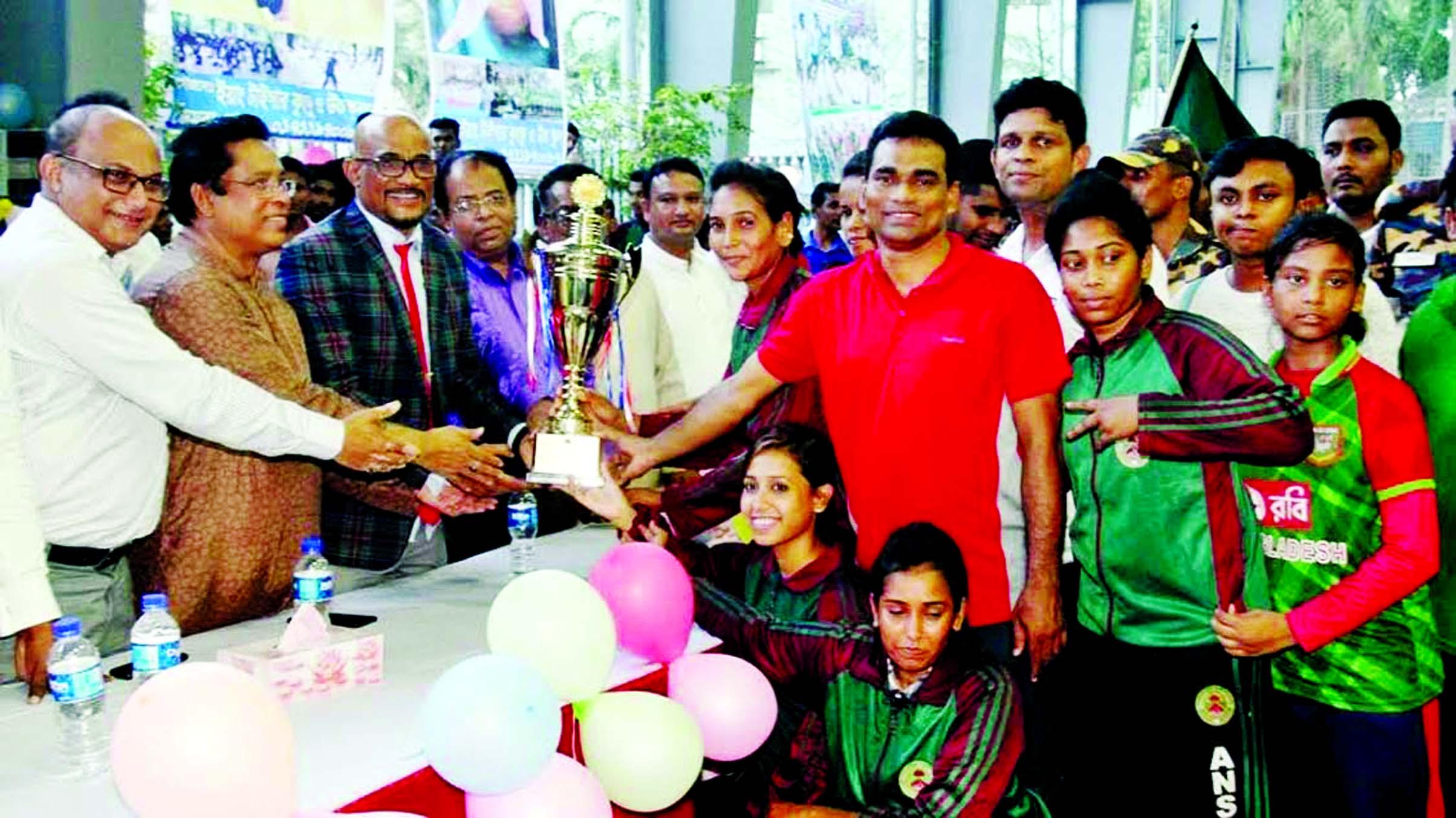 Ansar clinch Nat`l Wushu Championship title