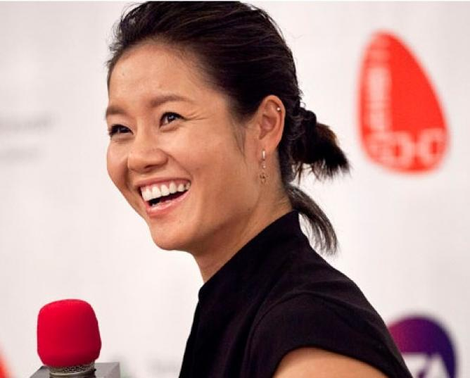 China's former tennis star Li Na joins business school