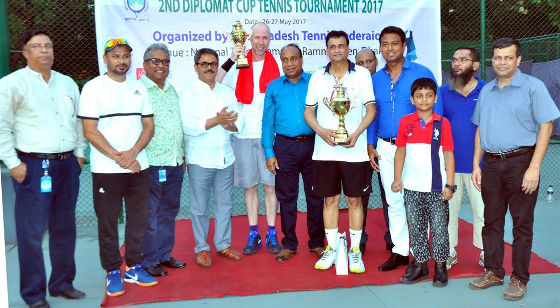 Neaz emerges champion in Diplomat Cup Tennis