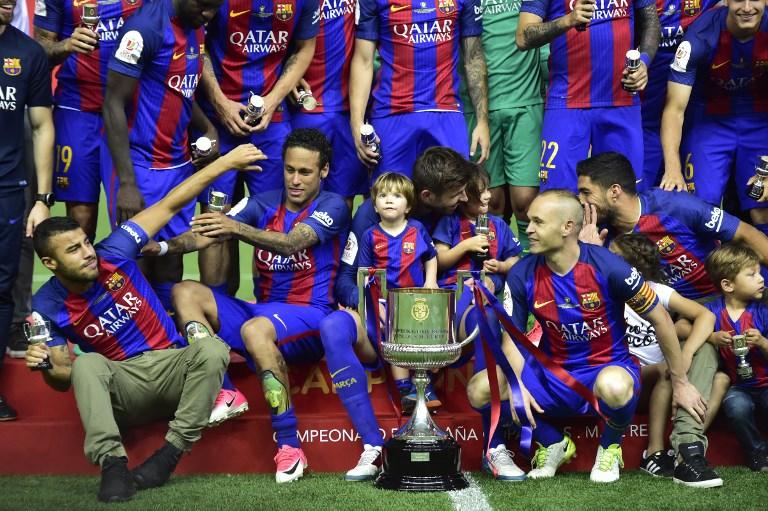 Messi magic inspires Barca to retain Copa del Rey