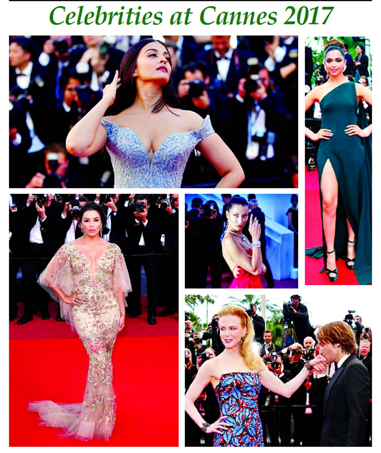 Celebrities at Cannes 2017