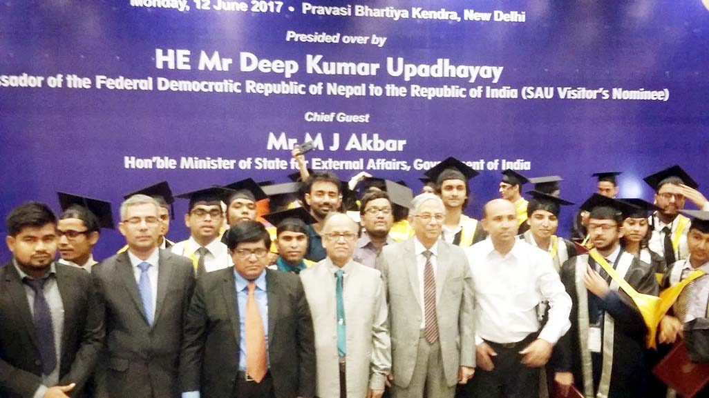 UGC Chairman attends SAU Convocation in New Delhi