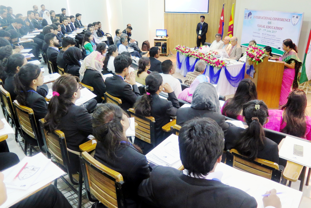 3-day int'l confce on legal education at EWU
