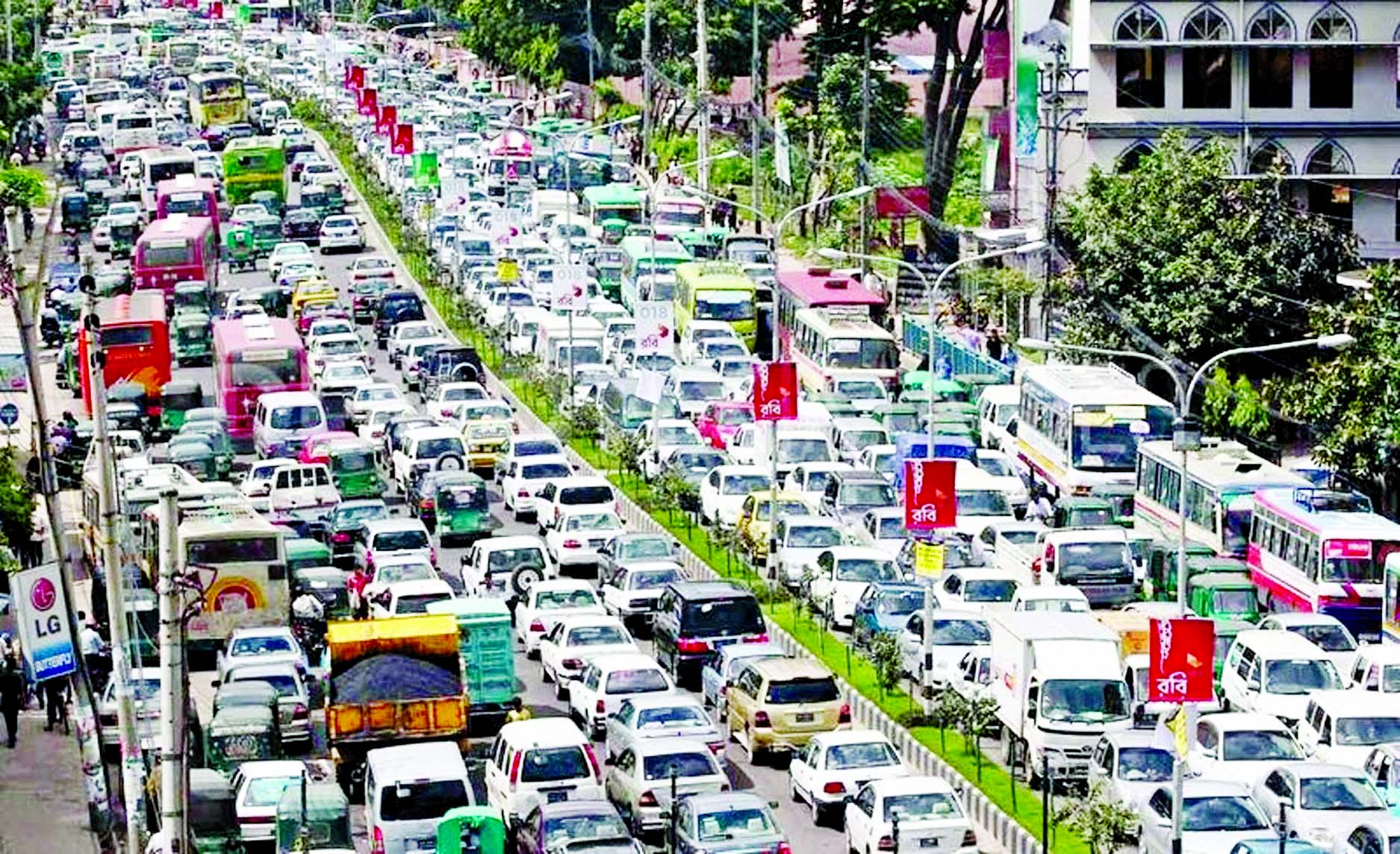 Traffic congestion in Dhaka city and its economic impact