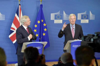 Britain seeks `special` EU ties as Brexit talks start