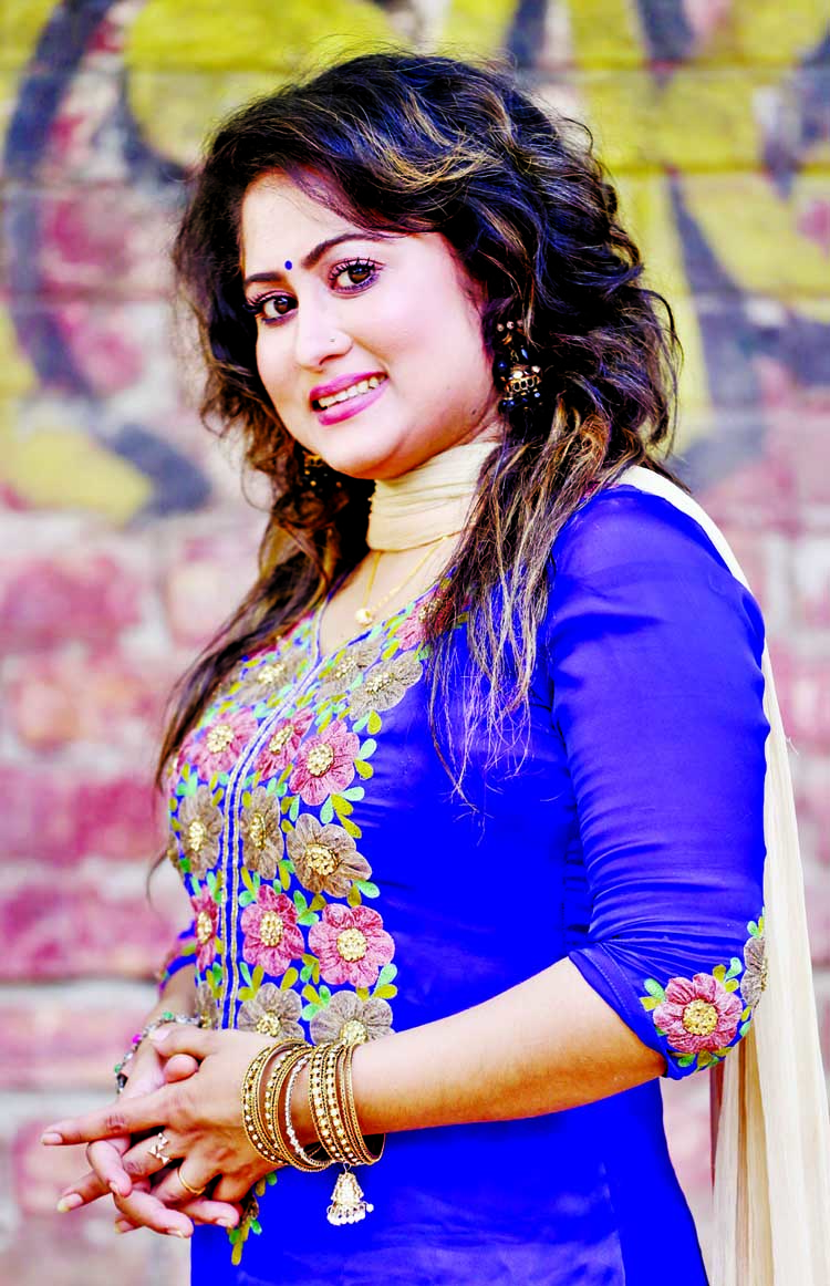 Shewly Shila: A regular actress of magazine Poriborton
