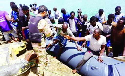 126 migrants feared dead