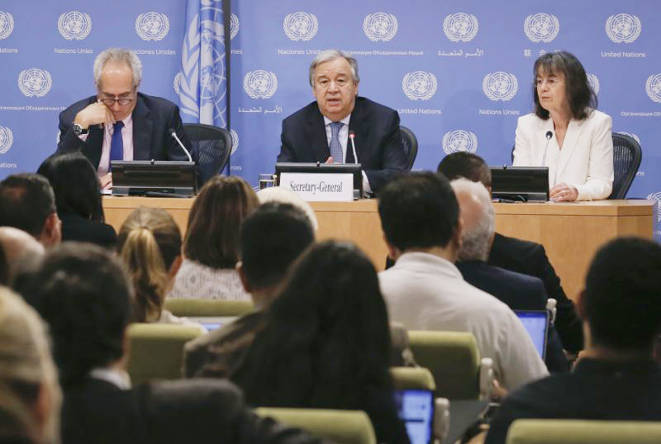US will be replaced if it disengages from world: UN chief