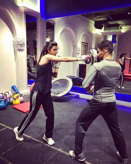 Diana Penty starts prepping for her next