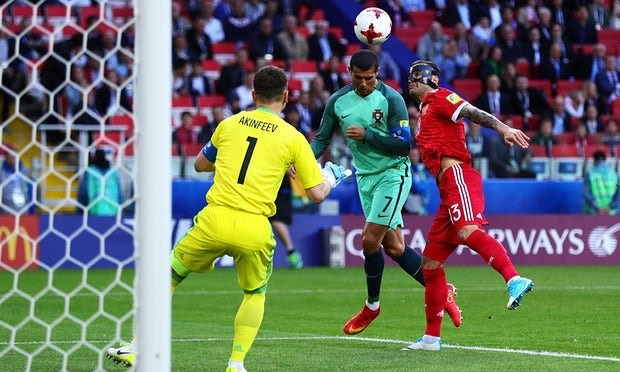 Ronaldo header earns Portugal win over Russia