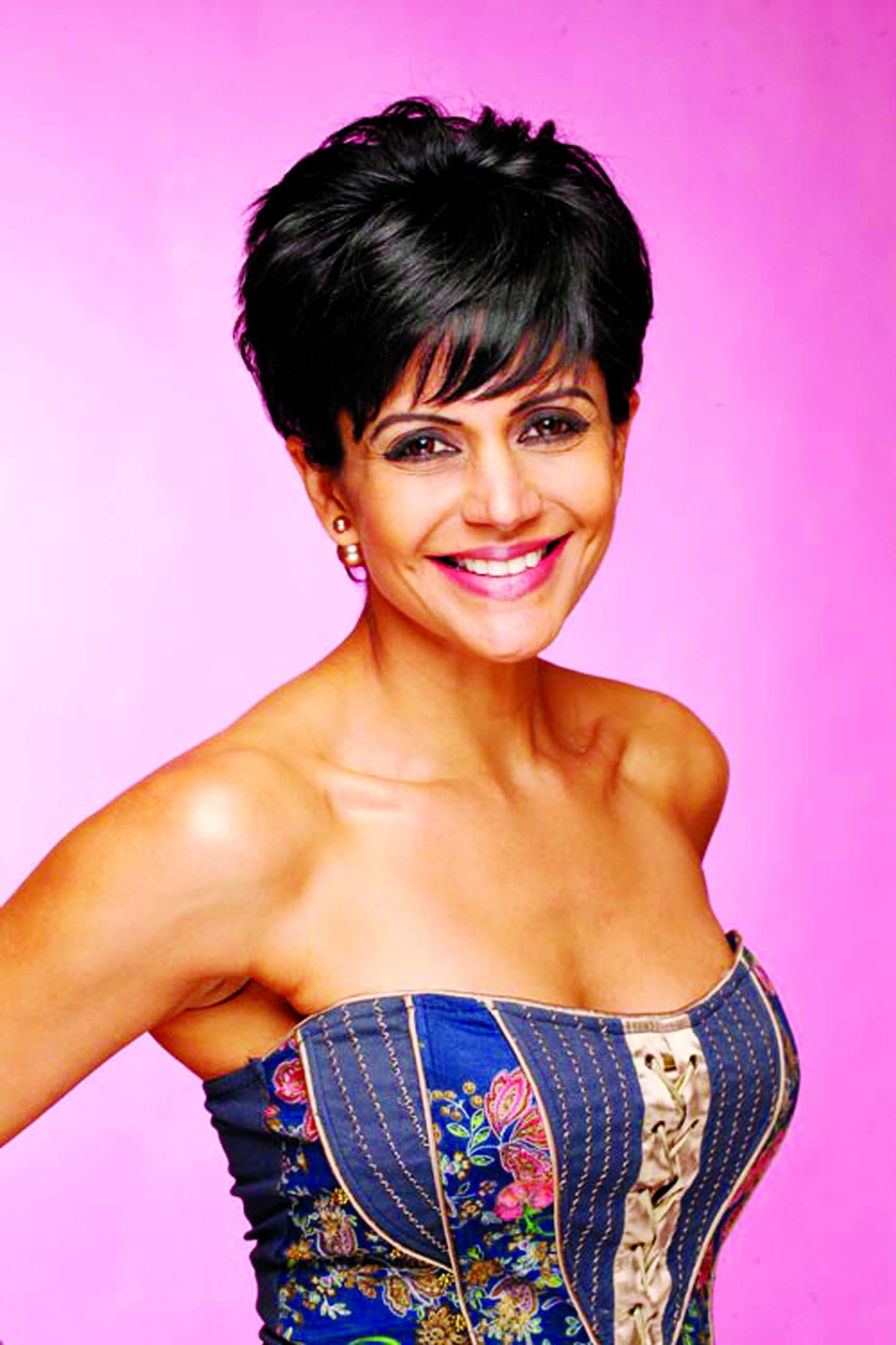 Mandira Bedi's next short film as an edgy girlfriend