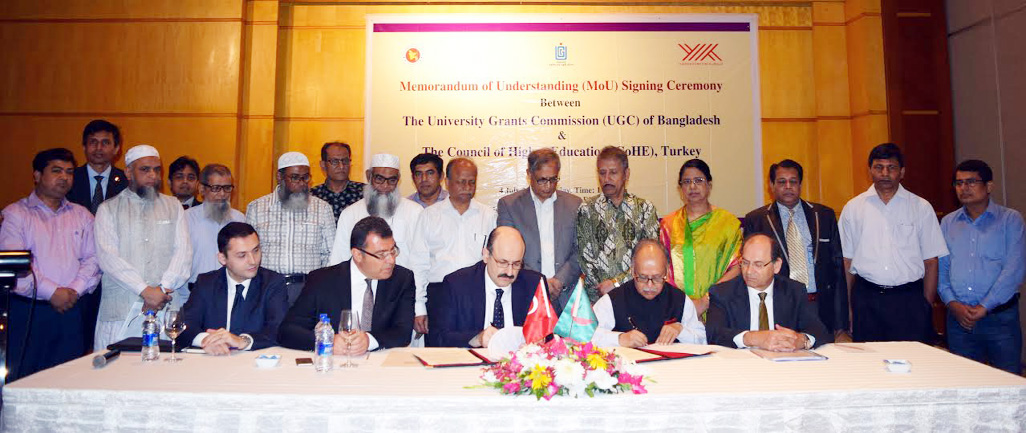MoU signed between UGC, Turkey Council of Higher Education
