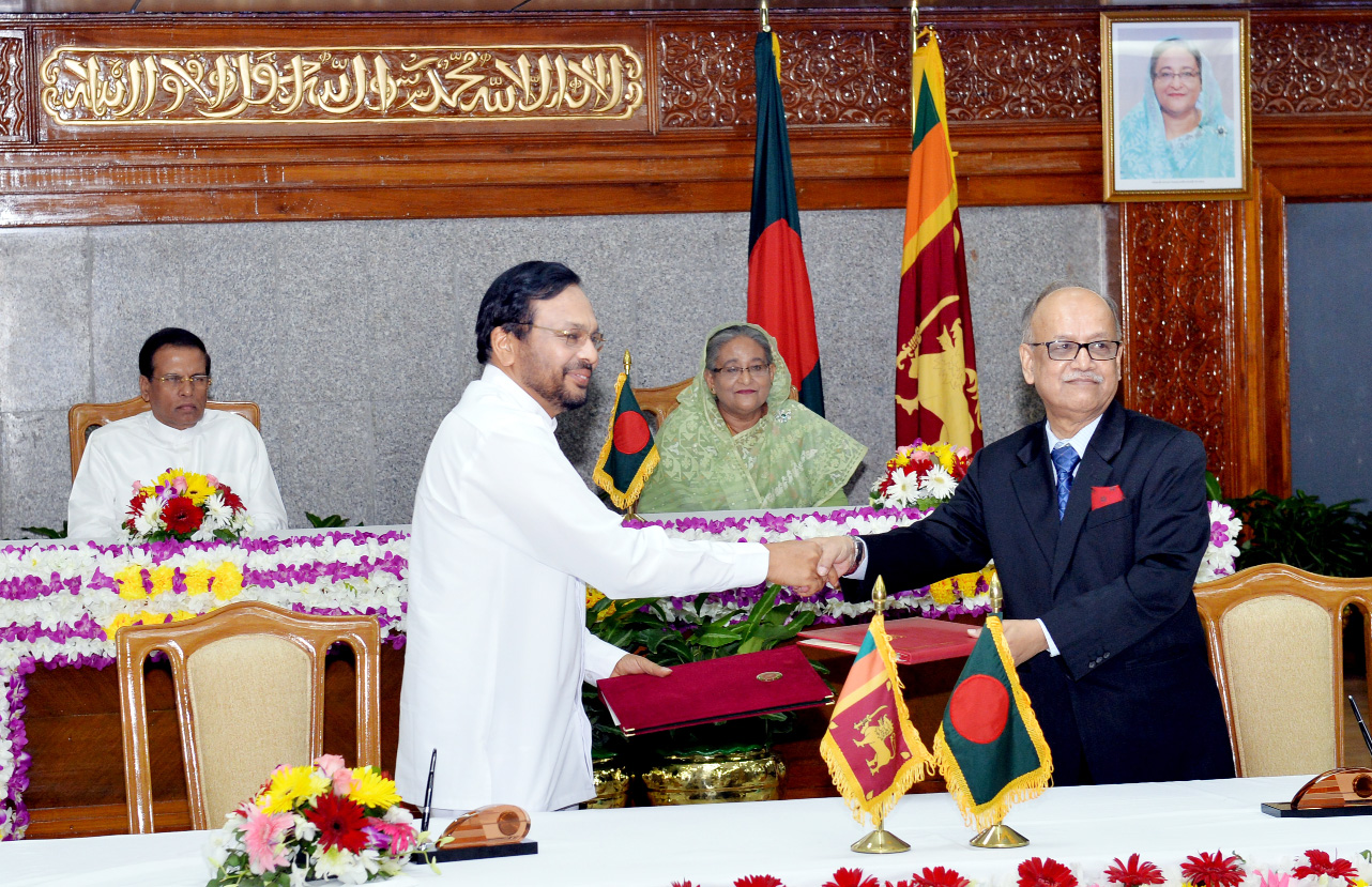 Bangladesh, Sri Lanka sign MoU for coop in higher education