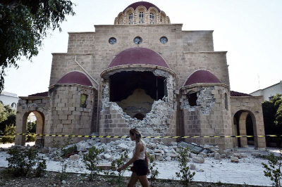 Greek holiday isle battles to recover from deadly quake