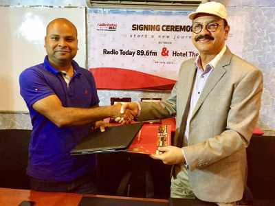 Radio Today signs agreement with  Hotel Cox's Today