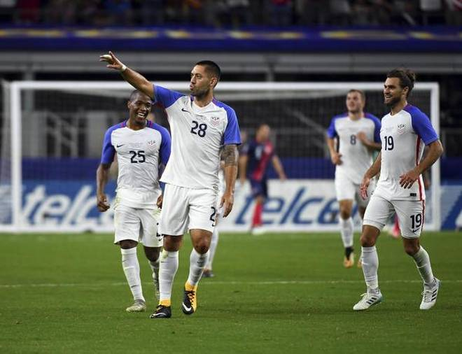 Dempsey milestone as US down Costa Rica to reach Gold Cup final