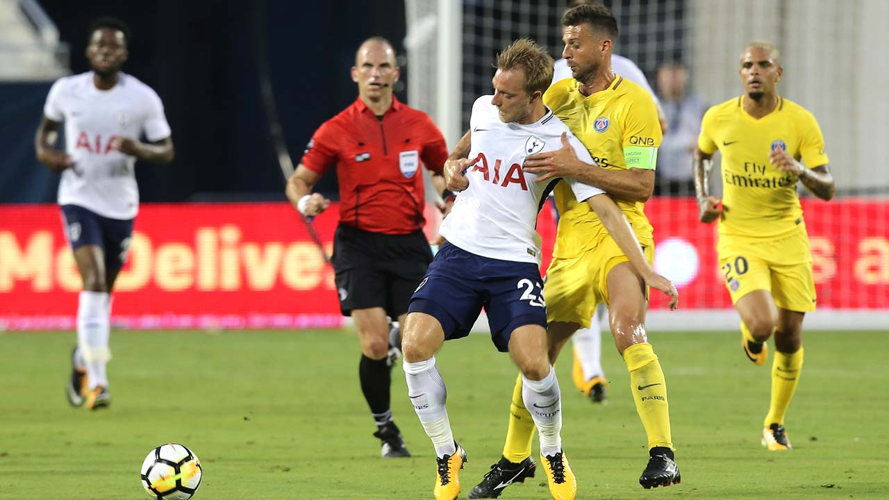 Spurs open pre-season with 4-2 friendly win over PSG