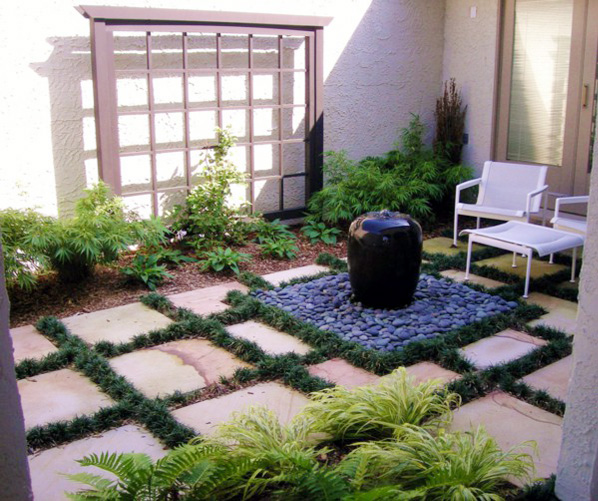 Create your own rock garden at home