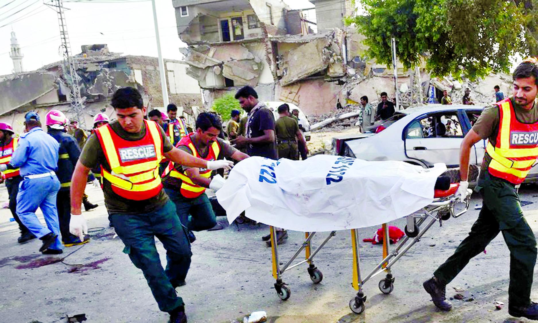 25 killed in blast near Lahore