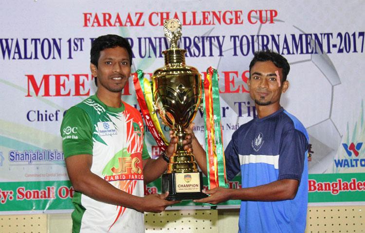 Green Univ to face Fareast Univ in final