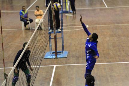 National Volleyball Titas Gas, PDB win