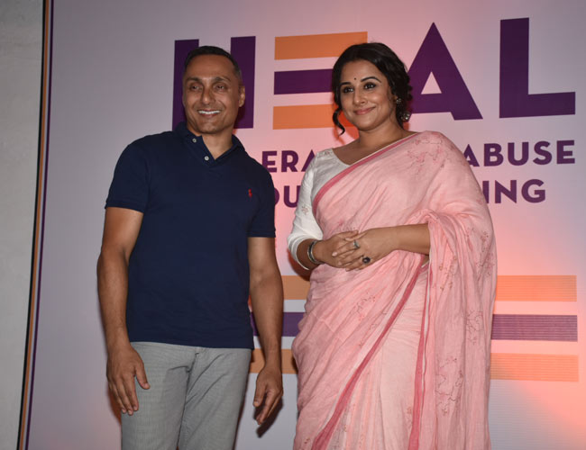 Vidya Balan joins hands with Rahul Bose